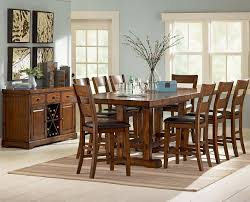 8 Pc Dining Room Set Garrett Counter Height Dining Set Consist Of 8 Piece Counter