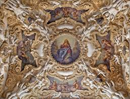 Baroque Ceiling by Palermo April 8 Detail From Ceiling Of Side Nave In Church