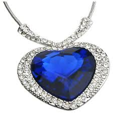 diamond blue necklace images Why diamond heart necklace give more meaning to your wedding jpg