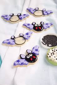 cookies with stenciled wings the bearfoot baker