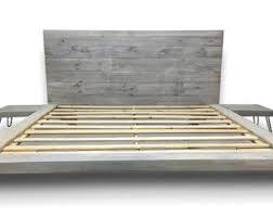Floating Headboard With Nightstands by Floating Bed Etsy