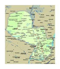 Colorado Map Of Cities by Map Of Paraguay With Cities Paraguay South America Mapsland