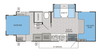 Jayco Travel Trailers Floor Plans by 2016 Melbourne Class C Motorhome Floorplans U0026 Prices Jayco Inc