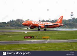the all orange colours of easyjet airlines airbus a320 214