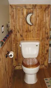 Log Cabin Bathroom Accessories by Outhouse Bathroom Set Bathroom 10 Outhouse Style House