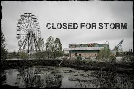 Abandoned 6 Flags Elephant In Tiger Skin February 2012