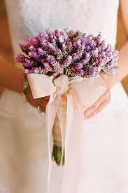 wedding flowers lavender lavender herb bouquet wedding flower