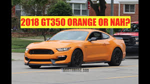 Black And Orange Mustang 2018 Gt350 Orange Fury 2018 Mustang Gt Black Accent Configurator