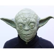 yoda mask star wars costume cosplay halloween party replica japan