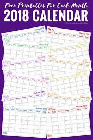 printable calendar pages free printable calendar