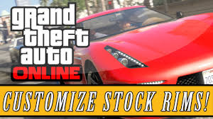 gta 5 online new colored stock wheels glitch paint stock rims