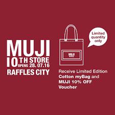 muji singapore opens new store u0026 cafe in raffles city great