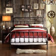 Rustic Wooden Beds Bed Frames Rustic Bed Frames For Sale Cheap Log Bed King Size