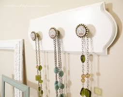 necklace holder diy images Thrifty and chic diy projects and home decor JPG