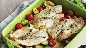 poisson blanc à la méditerranéenne recettes iga courgettes