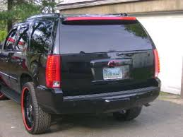 2007 cadillac escalade hitch cover upgraded to 11 escalade bumper on our 08 burban page 3 chevy