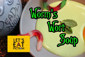 worm u0027s wort soup the nightmare before christmas let u0027s eat