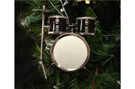 broadway gifts black drum set ornament heidmusic heid