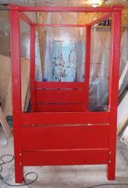 Pallet Bed Frame Plans Diy Pallet Toddler Canopy Bed 101 Pallets