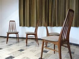 Teak Dining Room Set by Eva Teak Dining Chairs By Niels Koefoed For Koefoed Møbelfabrik