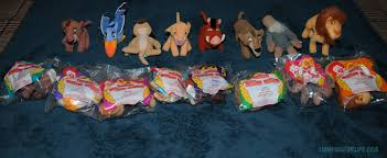 lion king mcdonald u0027s simba u0027s pride mini bean bags by