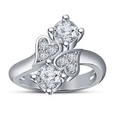 heart design rings images 3d printed 3d cad model of heart design wedding ring by vr3d jpg
