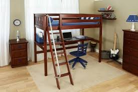 Kids Loft Bed With Desk Underneath Kids Loft Bed With Desk Plans Full Size Do It Regard To New