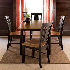 shop international concepts black cherry dining set with