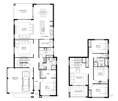 floor plans for building a house interesting two storey residential house floor plan 2 modern plans