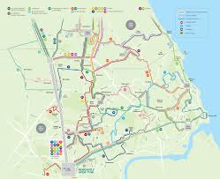 Tyne Metro Map by Newcastle