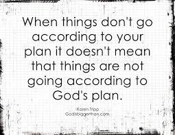 Comfort Quote God U0027s Plan Is The Best Plan Comforting Quotes From Karen Tripp