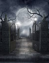 spooky cemetery the eve of death pinterest cemetery