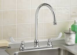 Restaurant Kitchen Faucets by Three Hole Kitchen Faucet Popular Ultramodern Kitchen Faucet And