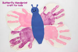diy handprint butterfly craft for kids