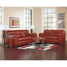Ashley Living Room Furniture Sets Durablend Living Room Group 6 Pc With Rocker Recliner Rug And