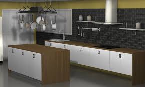 kitchen design ideas an ikea kitchen with fewer wall cabinets one