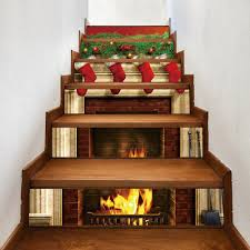 christmas stair sticker cheap casual style online free shipping at