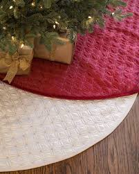 lancaster quilted tree skirt balsam hill
