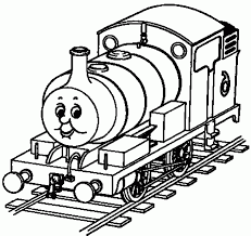 thomas tank engine coloring pages train locomotive