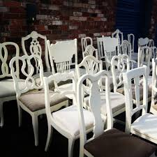 white wedding chairs gallery chairs with character
