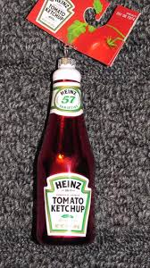 nwt heinz tomato ketchup bottle tree ornament what s