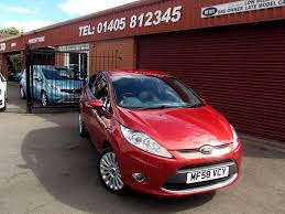used ford fiesta 2009 for sale motors co uk