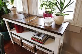 build a console table console table design building a console table ideas diy old door
