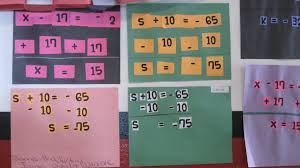 solving one step equations cut and paste activity tothesquareinch