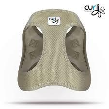 my curli curli dog harness air mesh beige petsonline