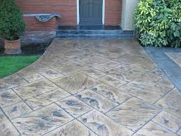 amazing stamped concrete patio coststamped cement ideas pinterest