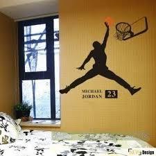 chambre basketball décalque de mur décoration murale sticker mural chambre décor de