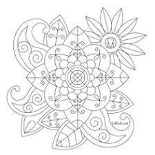 free easy mandala beginners coloring book image