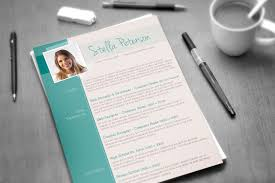 Fancy Resume Templates A Fancy Cv Template Tangy Peppermint
