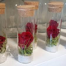 rose in glass petite preserved rose in glass adam s garden florist